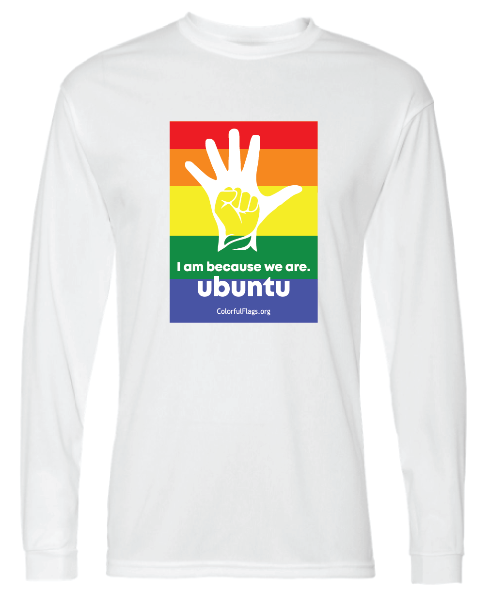 Basic Colorful Flags T-Shirt (Long Sleeve)